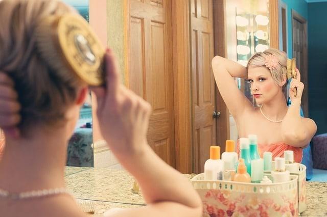 Miroir face à soi-même.